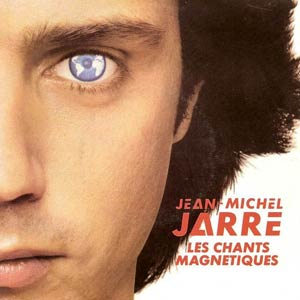 Jean-Michel Jarre - Magnetic Fields / Les Chants Magnetiques Pt. 2 - Single Cover