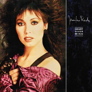 Jennifer Rush - Heart Over Mind - Single Cover