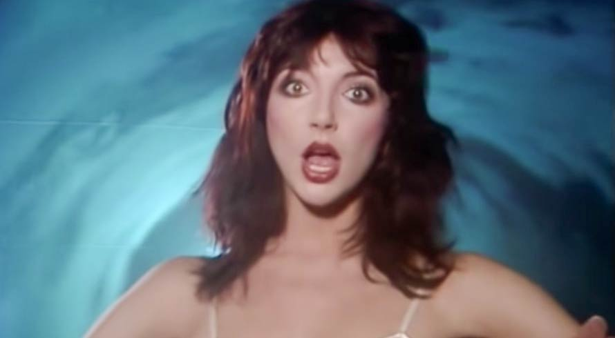 Kate Bush - Sat in Your Lap - Official Music Video