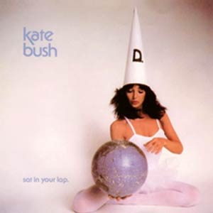 Kate Bush - Sat in Your Lap - Single Cover