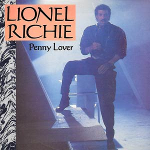Lionel Richie - Penny Lover - Single Cover