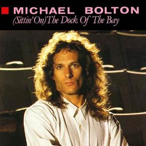 Michael Bolton - (Sittin' On) The Dock of the Bay - Single Cover