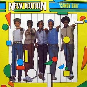 New Edition - Candy Girl - Single Cover