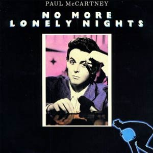 Paul McCartney - No More Lonely Nights - Single Cover