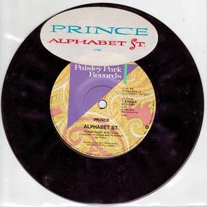 Prince - Alphabet St. - Single Cover