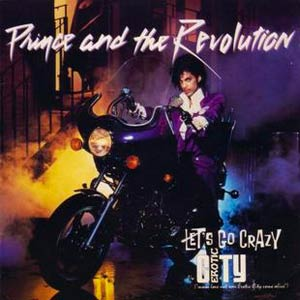 Prince and The Revolution - Let's Go Crazy - Single Cover
