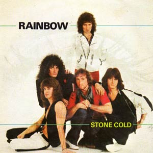 Rainbow - Stone Cold - Single Cover