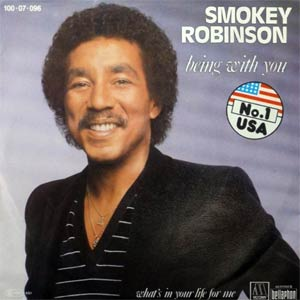 Smokey Robinson - Being With You - Single Cover