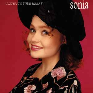 Sonia - Listen To Your Heart - Single Cover