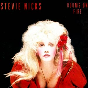 Stevie Nicks - Rooms On Fire - Single Cover