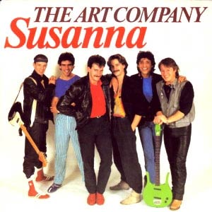 The Art Company (VOF de Kunst) - Susanna - Single Cover