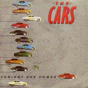 The Cars - Tonight She Comes - Single Cover