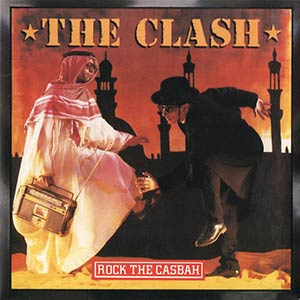 The Clash - Rock the Casbah - Single Cover