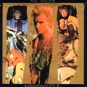 The Police - Synchronicity II - Single Cover
