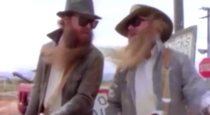 ZZ Top - Gimme All Your Lovin' - Official Music Video