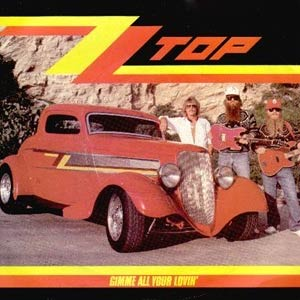 ZZ Top - Gimme All Your Lovin' - Single Cover