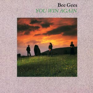 Bee Gees - You Win Again - Single Cover