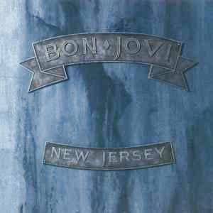 Bon Jovi New Jersey Album Cover