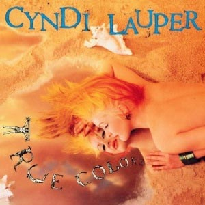 Cyndi Lauper True Colors Album Cover