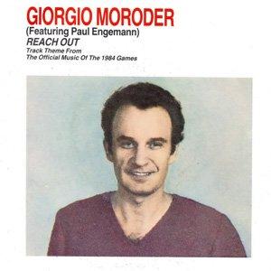 Giorgio Moroder - Reach Out - Single Cover