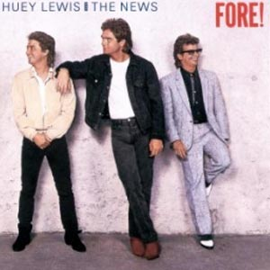 Huey Lewis and the News Fore Album Cover