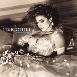 Madonna Like A Virgin Album Cover