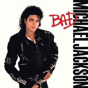 Michael Jackson Bad Album Cover