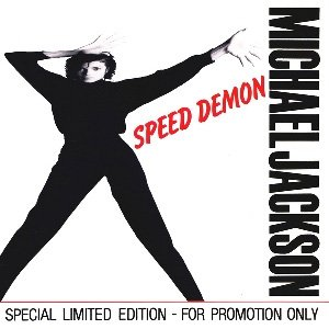 Michael Jackson - Speed Demon - Single Cover
