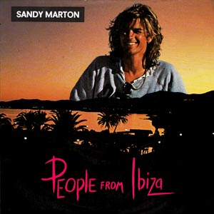 Sandy Marton - People From Ibiza - Single Cover