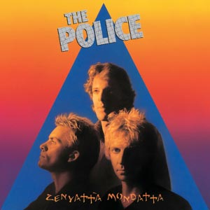 The Police Zenyatta Mondatta Album Cover