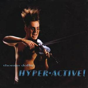 Thomas Dolby - Hyperactive! - Single Cover