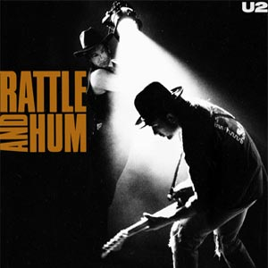 U2 Rattle And Hum Album Cover