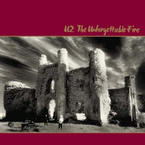 U2 Unforgettable Fire Ablum Cover
