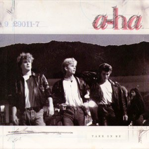 a-ha Take On Me Single Cover
