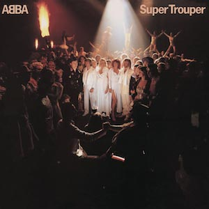 ABBA Super Trouper Album Cover