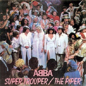 Abba Super Trouper Single Cover