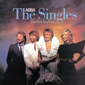 Abba The Single The First Ten Years Album Cover