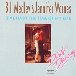 Bill Medley and Jennifer Warnes (I've Had) The Time of My Life Single Cover