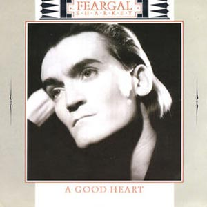 Feargal Sharkey A Good Heart Single Cover