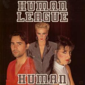 Human League Human Single Cover