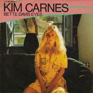 Kim Davis Bette Davis Eyes Single Cover