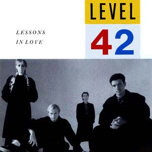 Level 42 Lessons In Love Single Cover