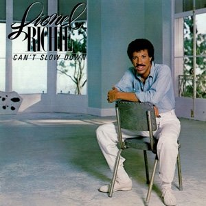 Lionel Richie Can't Slow Down Album Cover