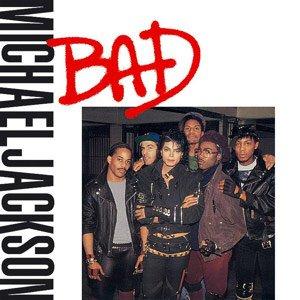 Michael Jackson Bad Single Cover