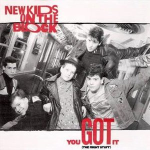 New Kids On The Block You Got It (The Right Stuff) Single Cover