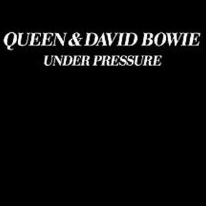Queen David Bowie Under Pressure Single Cover