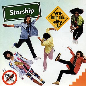 Starship We Built This City Single Cover