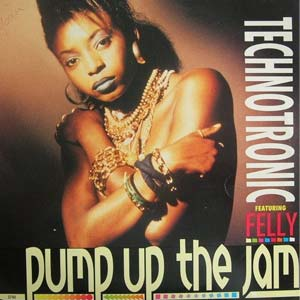 Technotronic Pump Up The Jam Single Cover