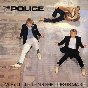 The Police Every Little Thing She Does Is Magic Single Cover