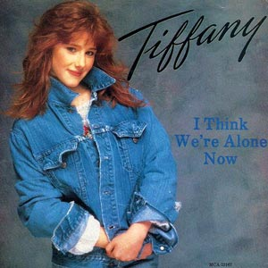 Tiffany I Think We're Alone Now Single Cover